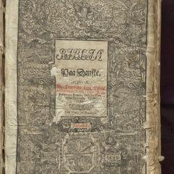 Digitalisering av Bibelen fra 1589